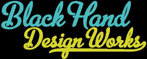 ブラックハンドデザインワークスロゴ
